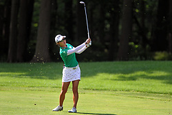 May 26, 2018 - Ann Arbor, Michigan, United States - Minjee Lee of Perth, Australia follows her shot from the fairway to the 4th green during the third round of the LPGA Volvik Championship at Travis Pointe Country Club, Ann Arbor, MI, USA Saturday, May 26, 2018. (Credit Image: © Amy Lemus/NurPhoto via ZUMA Press)