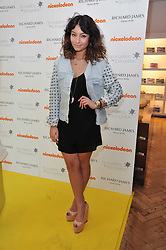 DJ YASMIN at a party to launch a range of SpongeBob SquarePants suits and accessories designed by Richard James in partnership with Nickelodeon held at Richard James, 29 Savile Row, London W1 on 11th May 2011.