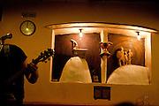 """The Zizkov pub """"The shoot out eye"""" (U vystreleneho Oka) in Prague 3 during the music festival event """"Zizkov night"""" (Zizkovska noc)."""