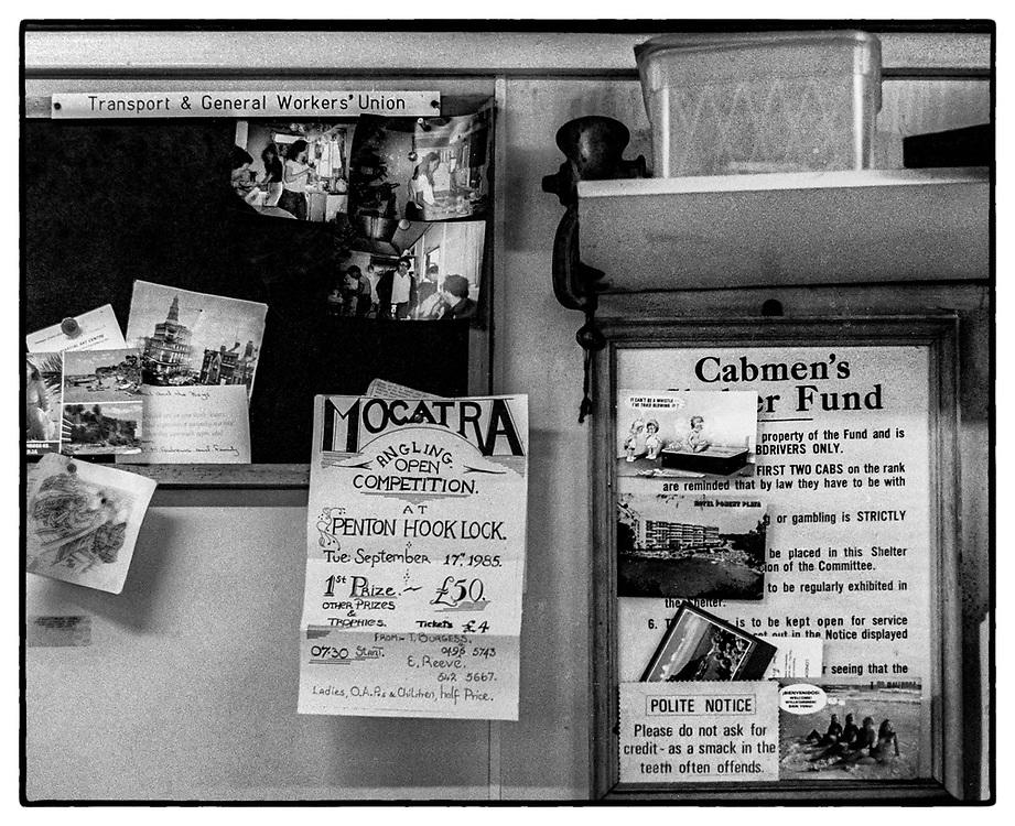 Green Cabbie Shelter, Pimlico, London, UK, 1985