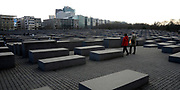 Berlin  is the capital of Germany, and one of the 16 states of Germany. It is the second most populous city proper and the seventh most populous urban area in the European Union. <br /> <br /> On the photo:  The Memorial to the Murdered Jews of Europe (German: Denkmal für die ermordeten Juden Europas), also known as the Holocaust Memorial (German: Holocaust-Mahnmal), is a memorial in Berlin to the Jewish victims of the Holocaust, designed by architect Peter Eisenman and engineer Buro Happold.