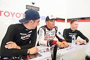 June 13-18, 2017. 24 hours of Le Mans. Stéphane Sarrazin, Toyota Racing, Toyota TS050 Hybrid, Sébastien Buemi, Toyota Racing, Toyota TS050 Hybrid