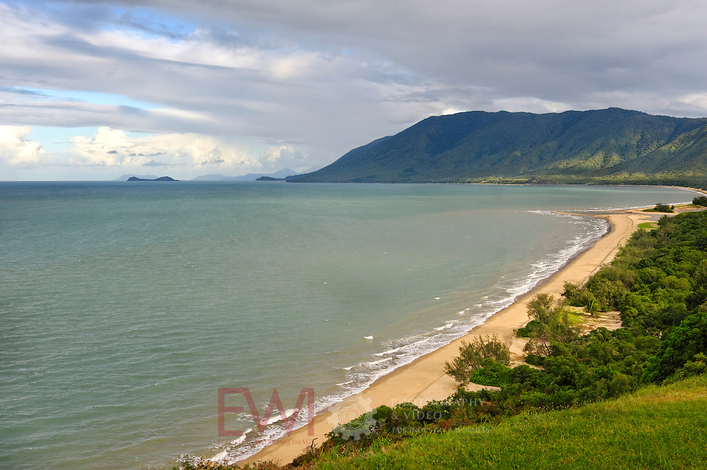 Looking south towards Cairns from Northern beaches area