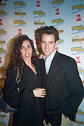 SIMON AMBROSE, FROM THE APPRENTICE AND CHARLOTTE PARISA DUNN, Bingo Lotto launch party. Soho Hotel Richmond Mews. London. 29 February 2008.  *** Local Caption *** -DO NOT ARCHIVE-© Copyright Photograph by Dafydd Jones. 248 Clapham Rd. London SW9 0PZ. Tel 0207 820 0771. www.dafjones.com.