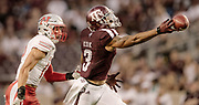 Sept 9, 2017; Texas A&M Aggies vs Nicholls State Colonels in College Station at Kyle Field. Photos by Thomas Campbell/Texas A&M Athletics