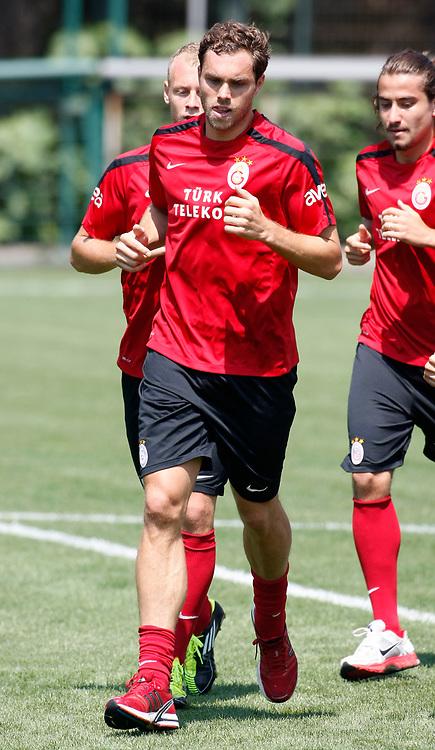 Galatasaray's Johan ELMANDER during their training at the Jupp Derwall training center, Saturday, July 16 2011. Photo by TURKPIX