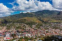 skyline cityscape of Matagalpa  in Nicaragua