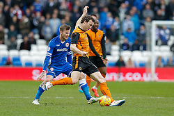 Kevin McDonald of Wolverhampton Wanderers in action - Photo mandatory by-line: Rogan Thomson/JMP - 07966 386802 - 28/02/2015 - SPORT - FOOTBALL - Cardiff, Wales - Cardiff City Stadium - Cardiff City v Wolverhampton Wanderers - Sky Bet Championship.