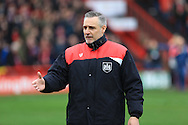 John Pemberton during the Sky Bet Championship match between Bristol City and Middlesbrough at Ashton Gate, Bristol, England on 16 January 2016. Photo by Daniel Youngs.