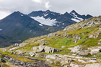 Chugach Mountains near Thompson Pass Alaska USA