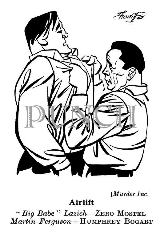 Murder Inc : Humphrey Bogart and Zero Mostel