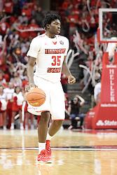 05 December 2015:  Roland Griffin(35).Illinois State Redbirds host the University of Alabama - Birmingham Blazers at Redbird Arena in Normal Illinois (Photo by Alan Look)