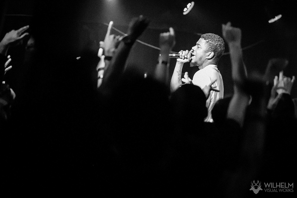 Mick Jenkins performs at Red Bull Sound Select Presents Denver at the Marquis Theater in Denver, CO, USA, on 06 October, 2016.
