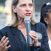 MP Wera Hobhouse attended Zero Hour Children's Lobby at Parliament square, London, UK on 2021-09-08.