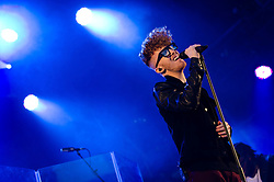 © Licensed to London News Pictures. 10/07/2012. London, UK. Daley performs live at Somerset House, supporting Jill Scott, as part of the Summer Series of music events held annually at Somerset House.  Gareth Daley (born 29 September 1989) is a British soul singer and songwriter from Manchester.   Photo credit : Richard Isaac/LNP