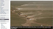 Mongolia, horse race - The BBC.