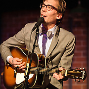 ALEXANDRIA, VA - MARCH 7: Bloodshot Records recording artist Justin Townes Earle and his band perform at the Birchmere.  Earle is currently touring behind his album Midnight at the Movies.  (Photo by Kyle Gustafson)