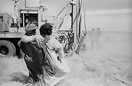 MALI. Tagmart. 12/02/1987: Drilling done by EAA (Euro Action Acord, a consortium of european NGO`s). The drilling and the pump that later will be installed on it are offered free. The local population has to organise a cooperative that will run the management of the water.