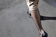 sharp dressed female legs