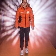 NLD/Amsterdam/20180226 - Thuiskomst TeamNL, Annouk van der Weijden