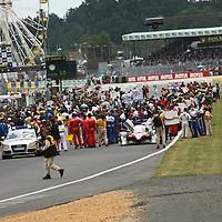 Pre-race line-up, Le Mans 24Hr 2007
