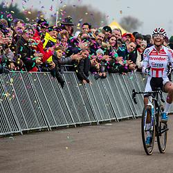 2018-11-24: Cycling: CX Worldcup: Koksijde: pure joy