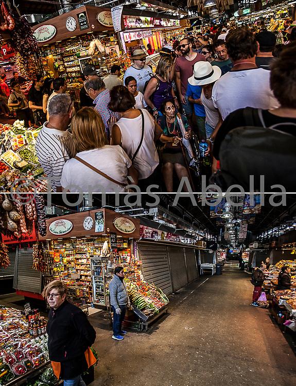Mercado de la Boquería.