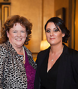 Siobhan Farragher Annaghdown and Sarah Coyne Ballinasloe  at the Gorta Self Help Africa Annual Ball in Hotel Meyrick Galway City. Photo: Andrew Downes, XPOSURE.