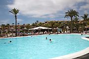 Barcelo Lanzarote hotel swimming pool, Lanzarote, Canary islands, Spain