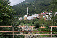 The village of Kuşköy near the Black Sea town of Ordu on Turkey's northern coast. The village is home to the annual bird language festival, and the surrounding area is the only part of Turkey where the bird/whistling language is still in use.