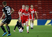 Adam Clayton of Middlesbrough  during the EFL Sky Bet Championship match between Middlesbrough and Leeds United at the Riverside Stadium, Middlesbrough, England on 2 March 2018. Picture by Paul Thompson.
