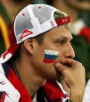 GEPA-1006086256 - INNSBRUCK,AUSTRIA,10.JUN.08 - FUSSBALL - UEFA Europameisterschaft, EURO 2008, Spanien vs Russland, ESP vs RUS. Bild zeigt einen Fan von Russland. Keywords: Enttaeuschung.<br />Foto: GEPA pictures/ Doris Schlagbauer