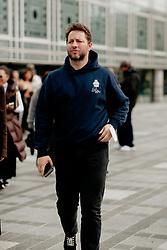 Street style, Derek Blasberg arriving at Ludovic de Saint Sernin Spring Summer 2022 show, held at Institut du Monde Arabe, Paris, France, on Ocotber 3rd, 2021. Photo by Marie-Paola Bertrand-Hillion/ABACAPRESS.COM