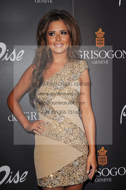 CHERYL COLE at the launch party for 'Promise', a new capsule ring collection created by Cheryl Cole and de Grisogono held at Nobu, Park Lane, London on 29th September 2010.