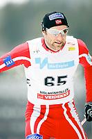 Langrenn Fristil 50km , FIS World Cup Cross-Country , Holmenkollen 08. Mars 2008 , Odd-Bjørn Hjelmeset NOR , Foto: Thomas Andersen , Digitalsport