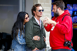 October 20, 2018 - Austin, United States - Motorsports: FIA Formula One World Championship; 2018; Grand Prix; United States, FORMULA 1 PIRELLI 2018 UNITED S GRAND PRIX , Circuit of The Americas  , Matthew Mcconaughey, Actor  (Credit Image: © Hoch Zwei via ZUMA Wire)