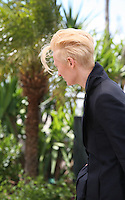 Actress Tilda Swinton at Only Lovers Left Alive Photocall Cannes Film Festival On Saturday 26th May May 2013