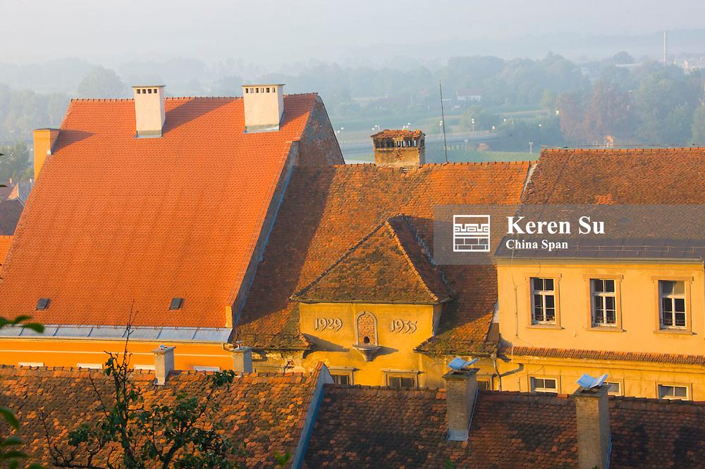 Historic building, Ptuj, Slovenia