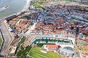 Nederland, Zeeland, Walcheren, 09-05-2013; Vlissingen, met Koopmanshaven en Vissershaven, nu <br /> Marina Jachthaven.<br /> Flushing with city harbours.<br /> luchtfoto (toeslag op standard tarieven)<br /> aerial photo (additional fee required)<br /> copyright foto/photo Siebe Swart