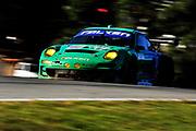 September 30-October 1, 2011: Petit Le Mans at Road Atlanta. 17 Bryan Sellers, Wolf Henzler, Martin Ragginger, Porsche 911 GT3 RSR, Falken Tire