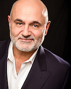 Actor and Artistic Director of Purple Rose Theatre Company Guy Sanville Headshot
