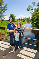 Family and newborn portraits for the Rose family at The Ranche in Fish Creek Provincial Park in SE Calgary.<br /> <br /> ©2018, Sean Phillips<br /> http://www.RiverwoodPhotography.com