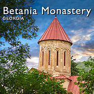 Pictures of Betania (Bethania ) Monastery, Nativity of the Mother of God , Georgia (country) -