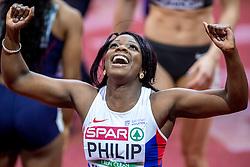 05-03-2017  SRB: European Athletics Championships indoor day 3, Belgrade<br /> Asha Philip GBR wint de 60 meter in 7.06