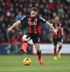 Bournemouth's Marc Pugh in action during the Sky Bet Championship match between AFC Bournemouth and Huddersfield Town at Goldsands Stadium on 14 February 2015 in Bournemouth, England - Photo mandatory by-line: Paul Knight/JMP - Mobile: 07966 386802 - 14/02/2015 - SPORT - Football - Bournemouth - Goldsands Stadium - AFC Bournemouth v Huddersfield Town - Sky Bet Championship