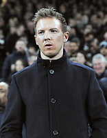 Football - 2019 / 2020 UEFA Champions League - Round of Sixteen, First Leg: Tottenham Hotspur vs. RB Leipzig<br /> <br /> Leipzig Manager / coach, Julian Nagelsmann  at The Tottenham Hotspur Stadium.<br /> <br /> COLORSPORT/ANDREW COWIE