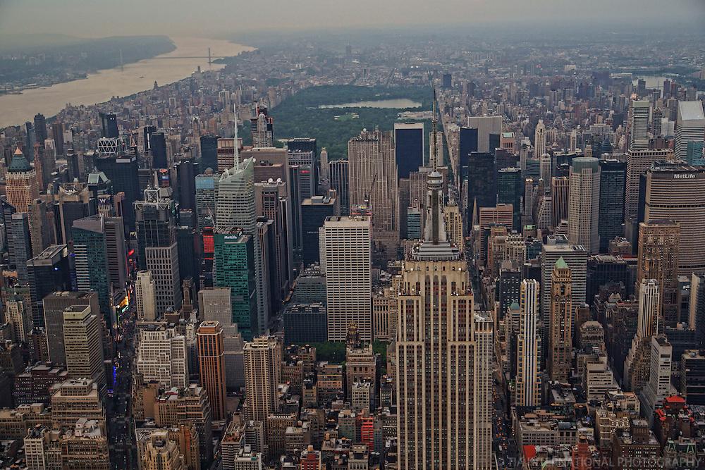 Midtown Manhattan & Central Park
