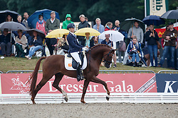Brouwer Kirsten, (NED), Eye Catcher 6<br /> First Qualifier 6 years old horses<br /> World Championship Young Dressage Horses - Verden 2015<br /> © Hippo Foto - Dirk Caremans<br /> 07/08/15