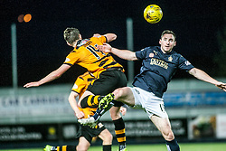 Alloa Athletic's Connor McManus and Falkirk's Bob McHugh. <br /> Falkirk 5 v 0 Alloa Athletic, Scottish Championship game played at The Falkirk Stadium. © Ross Schofield