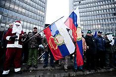DEC 23 2012 Slovenia Protests